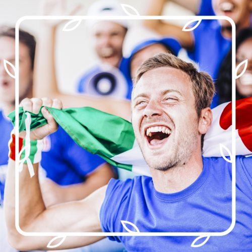 Guarda da noi le partite degli Europei
